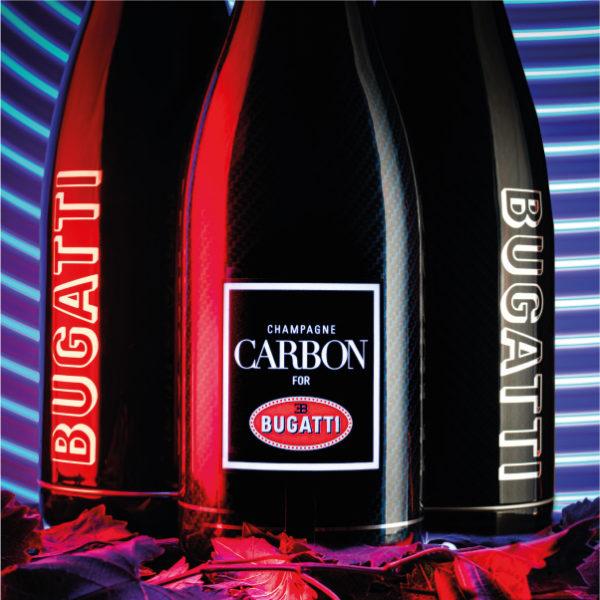 Champagne Carbon Cuvee Bugatti Luminous