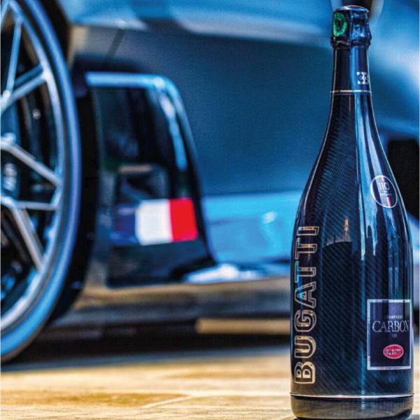 Champagne Carbon ƎB.01 for Bugatti