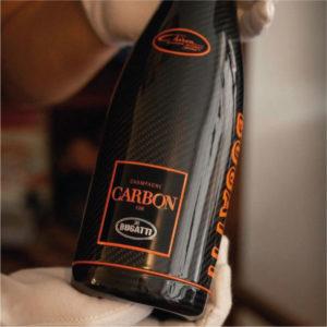 Champagne Carbon ƎB02 Chiron 300+ for Bugatti